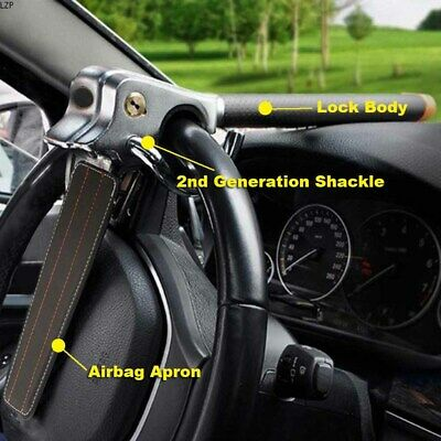 Car Steering Wheel Lock Antitheft Device Three Direction Airbag High Performance