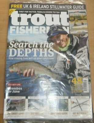 Trout Fisherman magazine #523 2019 Sinking lines to up your catch rate & more