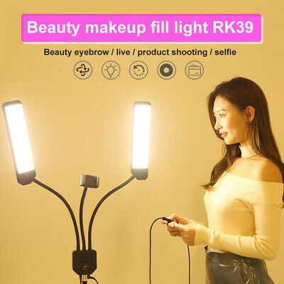 LED Studio Ring Light Dimmable Photo Video Lamp Kit For Camera Phone Shoot