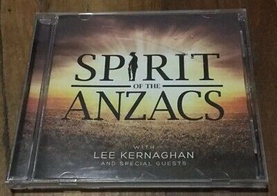 Spirit Of The ANZACS With Lee Kernaghan And Special Guest Cd 2015