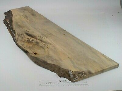 Waney edged English Lime wood board.  380 x 20 x 1170mm.  Plank, carving.  3228