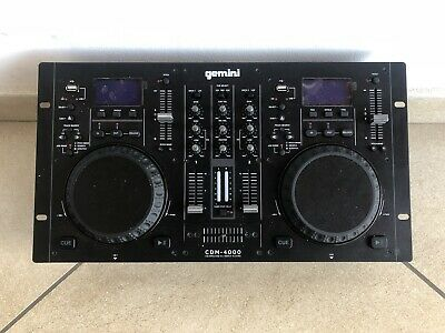 Console Gemini CDM-4000 Dj Cd / Mp3 / Usb CDM 4000