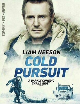 Cold Pursuit (Blu-ray + DVD + Digital HD 2 Disc) with Slipcover Like New