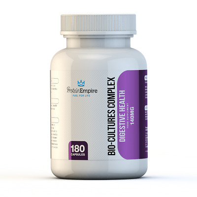 Bio-Culture Digestive Enzymes Probiotics 6 Month Supply Digestive Health & IBS
