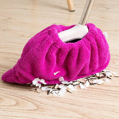 Cover Cleaning Cloth Home Household Flannelette Mop Sweeping Broom Washable N7