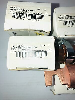 Buss Class R Fuse Reducer 216-R (Lot of 4)