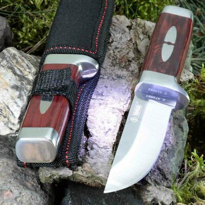 7.91in KANDAR B-026 FIXED BLADE KNIFE HUNTING A.