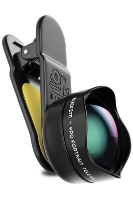 Phone Lenses by Black Eye || Pro Portrait Tele Photo G4 Clip-on Zoom Lens
