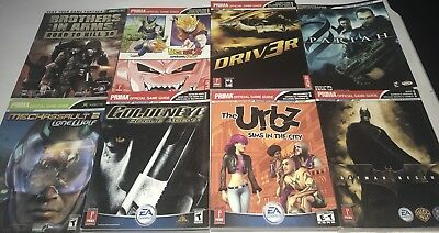 Huge Lot Of 30 New Video Game Guides - DragonBall Z 007 Pariah Brady Urbz Driv3r