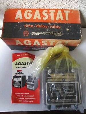 Agastat NE-21 Time Delay Electromagnetic Relay