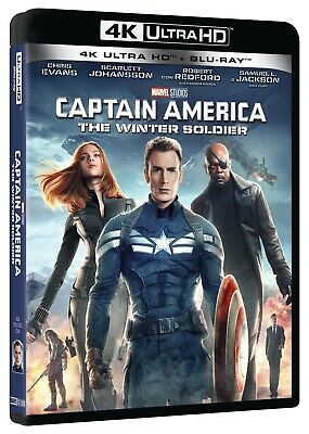 Captain America - The Winter Soldier (Blu-Ray 4K Ultra HD + Blu-Ray) MARVEL