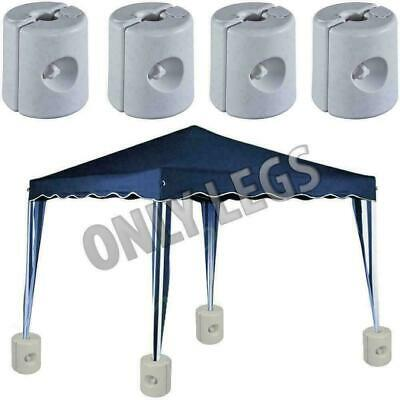2/4/6/8 Garden Gazebo Foot Leg Feet Weights Sand For Tent Market Stall Marquee