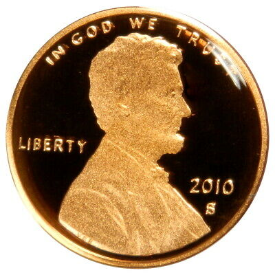 2010-S Proof Lincoln Memorial Cent Penny Deep Cameo , FREE SHIPPING!