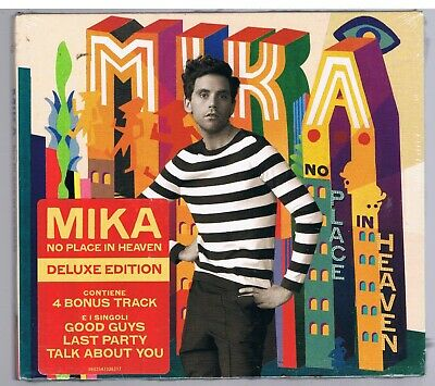 Mika No Place In Heaven Deluxe Edition Cd Digipack  Nuovo Sigillato!!!