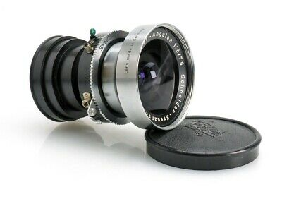 Schneider Super-Angulon 75mm f/8 Lens in Compur 00 shutter