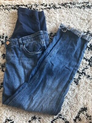 ASOS Maternity Size 6 Kimmi Boyfriend Over Bump Jeans In Blue