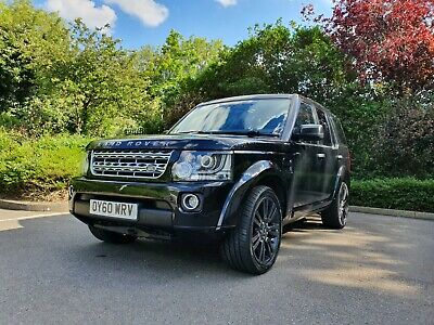Stunning Black Land Rover Discovery 4 2010 Hse Luxury 7 Seater 2016 Facelift