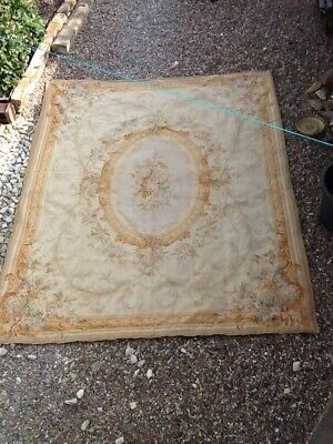 Large Antique Aubusson Tapestry In Good Condition And Colour.