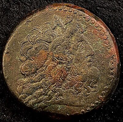Ptolemy IV 221-205BC Ancient Greek Mammoth AE 42 Drachm 7mm Thick 70.77g Heavy!!