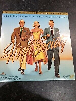 High Society Deluxe Letterbox Edition Laserdisc