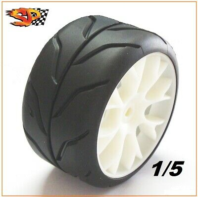"Gomme Tire SP Racing 1/5 DIABOLIK SPORT ""A"" Soft for Genius FG (2 tires) SP06100"