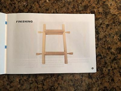 Wooden Weaving Loom Set by Lontic, NIB
