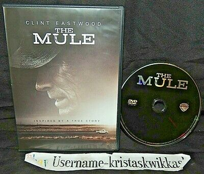 The Mule (DVD, 2019) -Clint Eastwood VERY GOOD