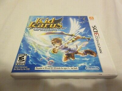 Kid Icarus Uprising (Nintendo 3DS, 2011) No Manual Fully Tested Game Buy It Now
