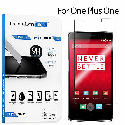 New Premium Real Tempered Glass HD Clear Screen Protector For OnePlus One