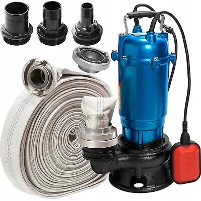 Heavy Duty Submersible Electric Waste Dirty Pond Flood Sewage Water Pump