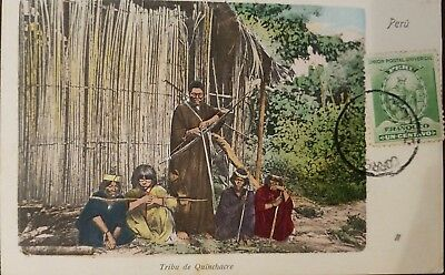 O) 1900 Circa-Peru, Isolated Tribes In The Amazonian Jungles Of Peru -Indigenous