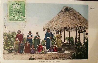 O) 1900 Circa-Peru, Indigenous Culture Chunchos -Río Nicandares -Isolated People