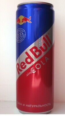 red bull cola. RARE!!! New, never open. Excellent condition! Hurry!!