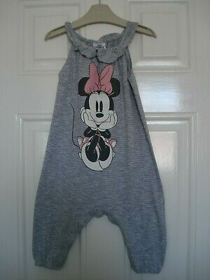 Next Girls 12 To 18 Months Disney Minnie Mouse Hareem Jumpsuit 12 - 18 Months
