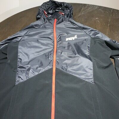 Men's Clothing Black Inov8 Softshell Half Zip Mens Running Jacket