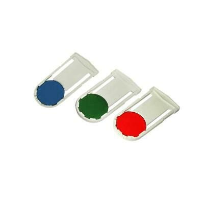 30mm Color Filter Kit for Compound Microscopes (Red, Green, Blue)
