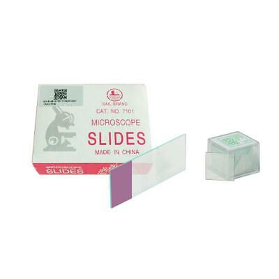 Pre-Cleaned Blank Glass Microscope Slides & Square Coverslips Cover Glass