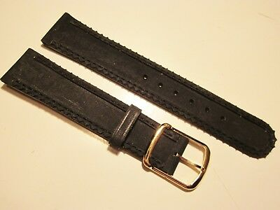 VTG 70's NOS COBRA Nubuck Leather 18mm Watch Band Made In France