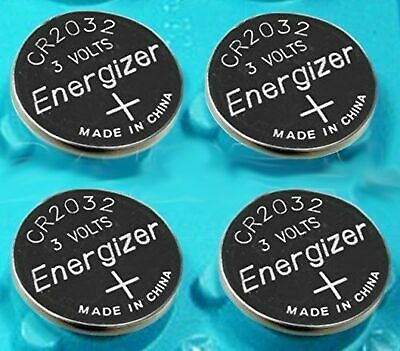 Pack of 4 -- Energizer Cr2032 3v Lithium Coin Cell Battery Dl2032 Ecr2032