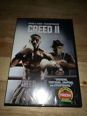 Brand New Creed II 2 DVD 2019 Michael B. Jordan Stallone