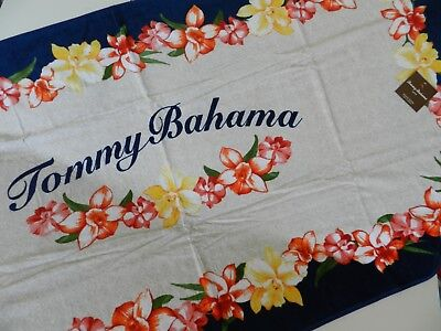 Authentic 100/% Cotton Tommy Bahama Beach Spa Pool Towel Iconic Logo  New 35x66