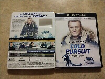 4k ULTRA HD + BLU-RAY NEW RELEASE  DVD cold PURSUIT