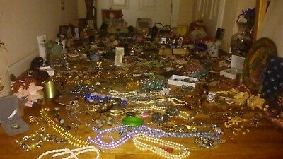 !HUGE ESTATE JEWELRY LOT - Gorgeous Antique/Vintage Gold&Silver +1500items! Lot