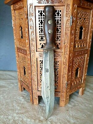 Old Australian Hand Made Bowie Knife …beautiful collection piece
