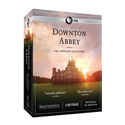 Downton Abbey: The Complete Series - Unedited UK Edition - DVD Region 1 (USA)