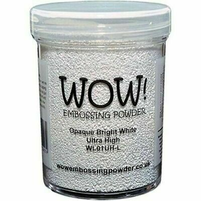 Wow Embossing Powder 160Ml-Opaque Bright White Ultra High