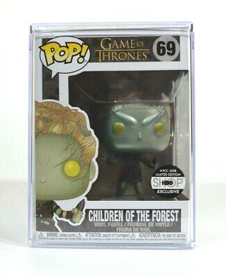 Funko Pop Game of Thrones Metallic Children Of The Forest #69 NYCC 2018 In Hand