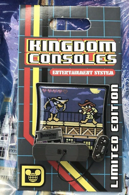 Disney Kingdom Consoles Darkwing Duck Video Game Pin LE 4000 May 2019 POTM Parks