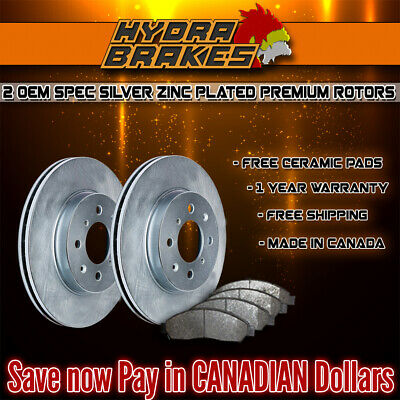 FITS 2007 2008 2009 2010 2011 AUDI Q7 OE BLANK Brake Rotors CERAMIC SLV F
