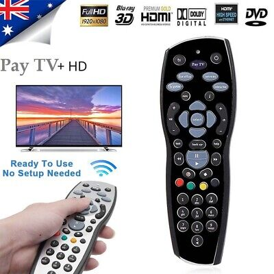 Sensitive Remote Control For Aussie Foxtel Mystar HD Pay TV IQ2 IQ3 AU Fast Ship